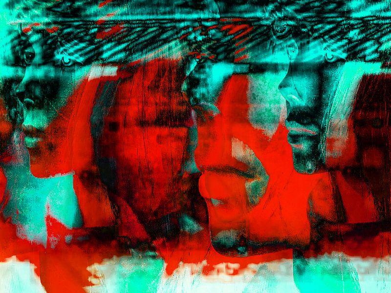 Red faces van Gabi Hampe