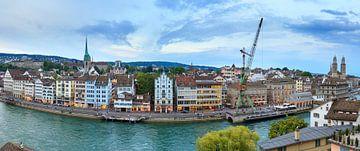 Zurich skyline panorama von Dennis van de Water