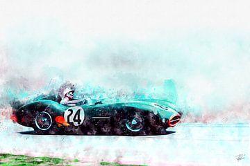 Stirling Moss DBR1 van Theodor Decker