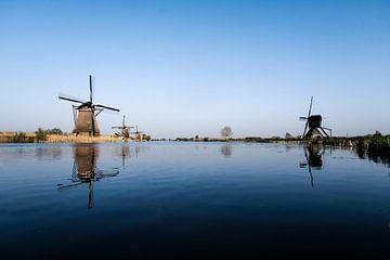 Molens in Kinderdijk van Eddy Westdijk
