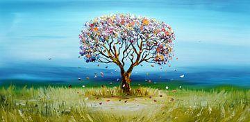 Dream tree sur Gena Theheartofart