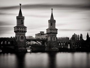 Langzeitbelichtung: Berlin - Oberbaumbrücke von Alexander Voss