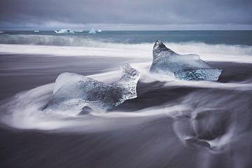 Edelstenen van ijs van Edwin van Wijk