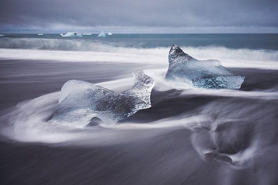 Edelstenen van ijs