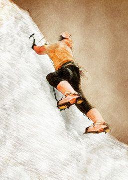 Bergsteiger Klettern Sport Kunst #Bergsteiger #Klettern #Sport