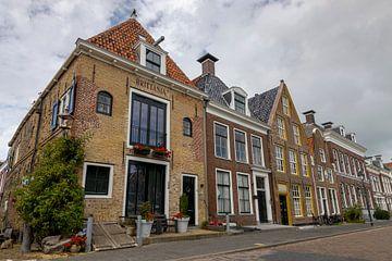 Noorderhaven in Harlingen van Sander Groenendijk