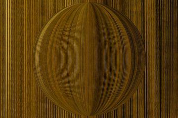 Sphère d'or sur Carla van Zomeren