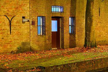Werfkelder aan de Nieuwegracht in Utrecht sur Donker Utrecht