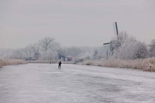 Wintertafereel Holland