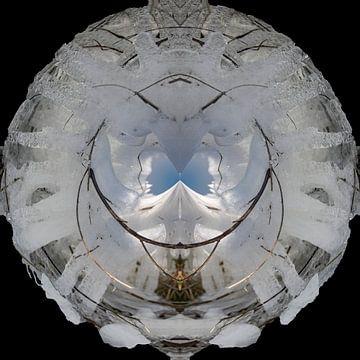 Kunst met ijs van Greet ten Have-Bloem
