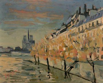 Quai de Orleans Parijs van Nop Briex