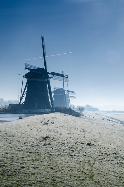 Winterochtend - De Molendriegang in Leidschendam