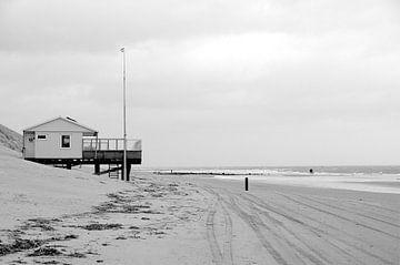 Strandpavillon Ameland von Taco Bijlsma