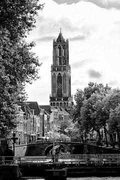 Tour Dom Utrecht vue du Weerd de Bemuurde (2) sur De Utrechtse Grachten
