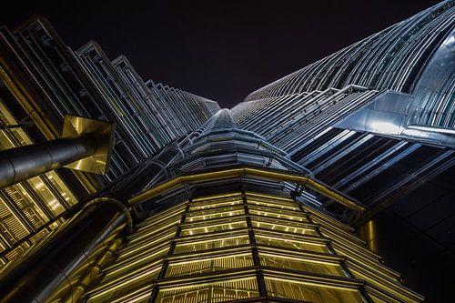 Petronas towers, Kuala Lumpur van Reinier Snijders