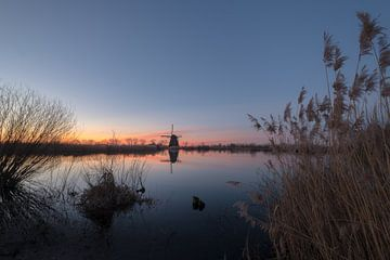 Molen bij zonsopkomst von Moetwil en van Dijk - Fotografie