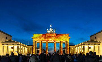Porte de Brandebourg Berlin sur Frank Herrmann