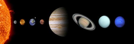 Panorama Sonnensystem