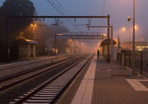 de eerste trein van