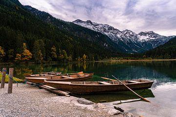 Bateaux au lac sur Jens Sessler
