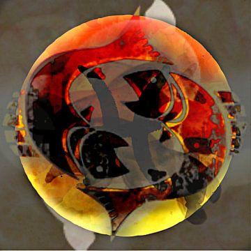 Sterrenbeeld Vissen van Kirsti's Kunst