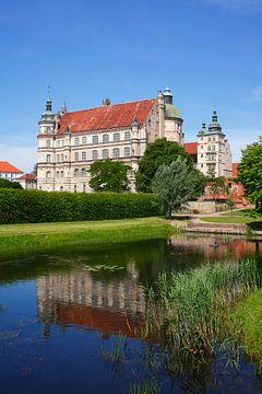 Schloss Güstrow, Güstrow, Mecklenburg-Vorpommern, Deutschland, Europa