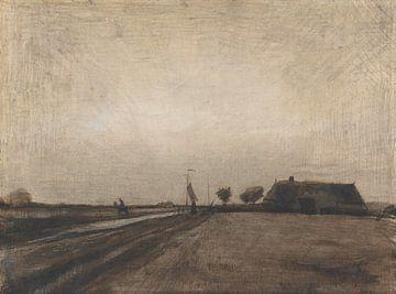 Landschaft in Drenthe, Vincent van Gogh
