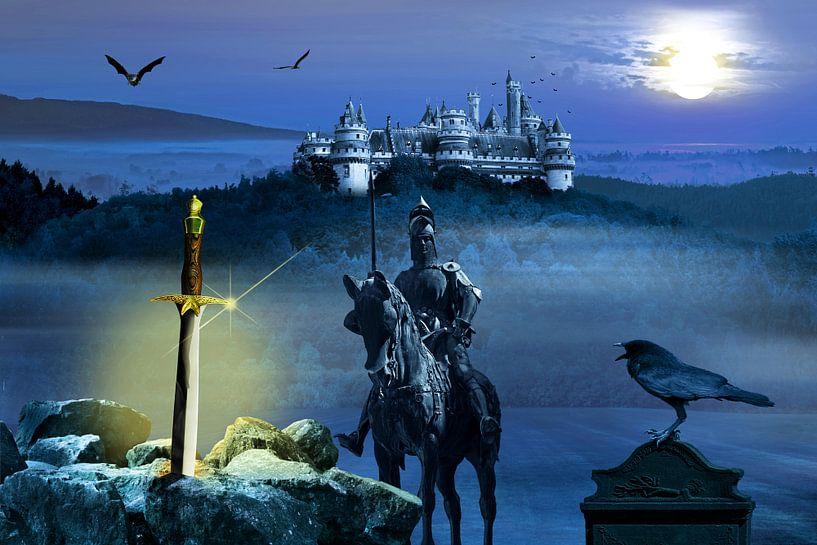 Camelot en het zwaard Excalibur van Monika Jüngling
