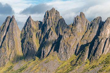 Die spitzen Berge von Okshornan. Der Kiefer des Teufels. von Axel Weidner