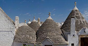 Trulli, Puglia, Italie von Rene van der Meer