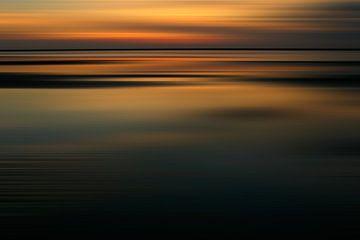 Sunset in Zeeland van Sander van Ketel