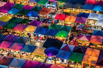 Nachtmarkt van Manjik Pictures