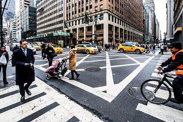 zomaar een kruising in New York van Eric van Nieuwland