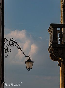 Zonsopkomst in Venetië van Bert Boevink