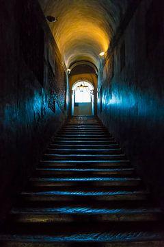 Treppe des Engelsschlosses von Ellen Gerrits