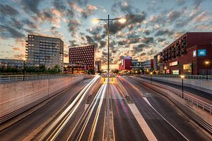Amersfoort rush hour van