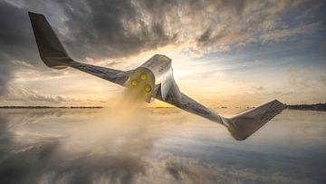 Onbekend ruimteschip van Frans Nijland