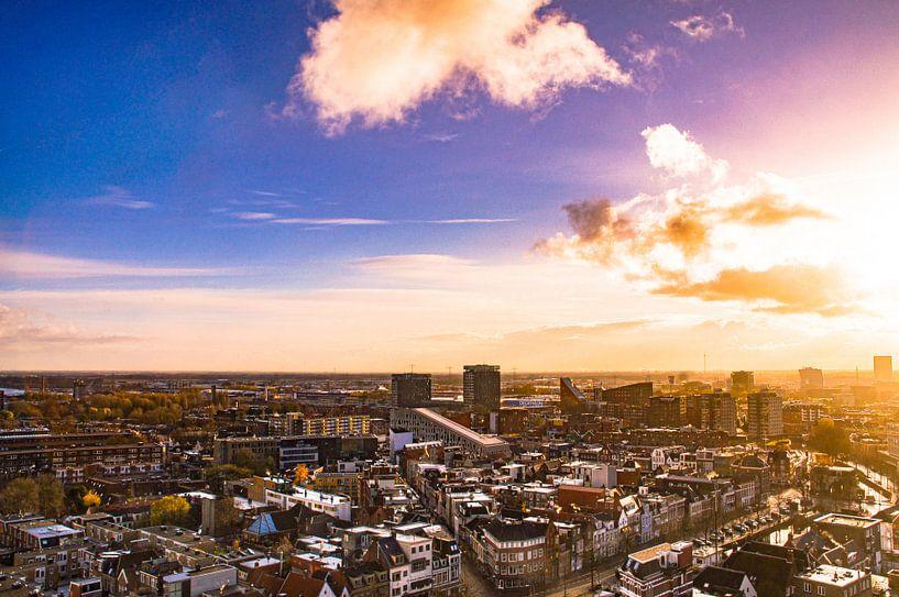 Skyline City of Groningen van Raymond Bos