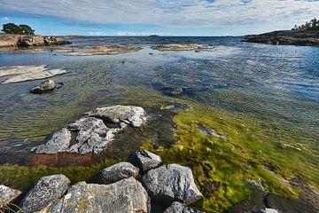 baai aan de zweedse oostzee kust