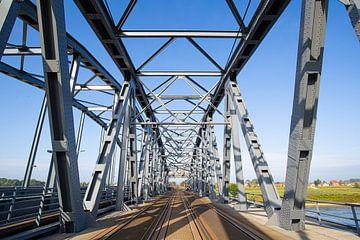 Pont ferroviaire de Zutphen pendant les opérations sur Stefan Verkerk