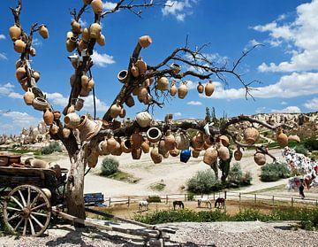 Wensboom in Cappadocië van Caroline Bomers