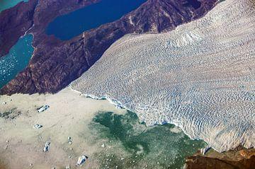 Reusachtige gletsjer van Denis Feiner