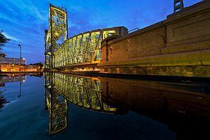 De Hef reflectie in de Nacht van Anton de Zeeuw