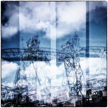 rotterdam bruggen de hef lomography analoog fotografie Dutch bridges van MadebyGreet greetvanbreugel