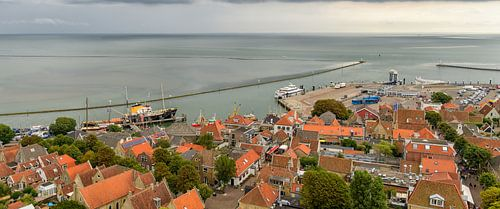 Isle of Terschelling village and harbour sur