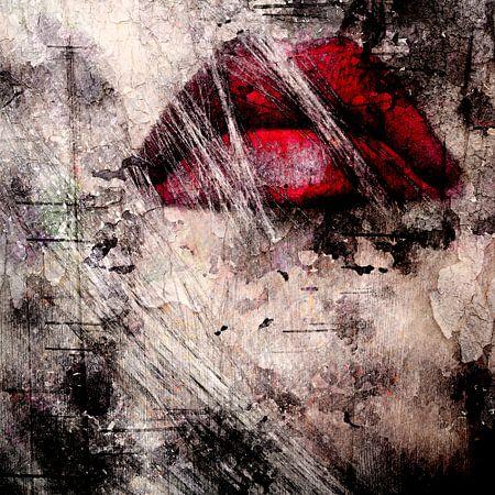 Red lips van PictureWork - Fotografie en Beeldbewerking