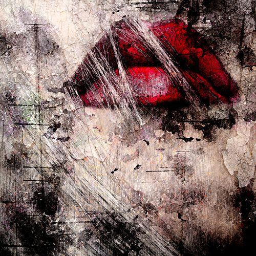Red lips van PictureWork - Digital artist