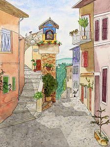 La rue italienne sur