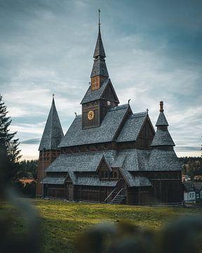 Kerk van Noorwegen van Arnold Maisner