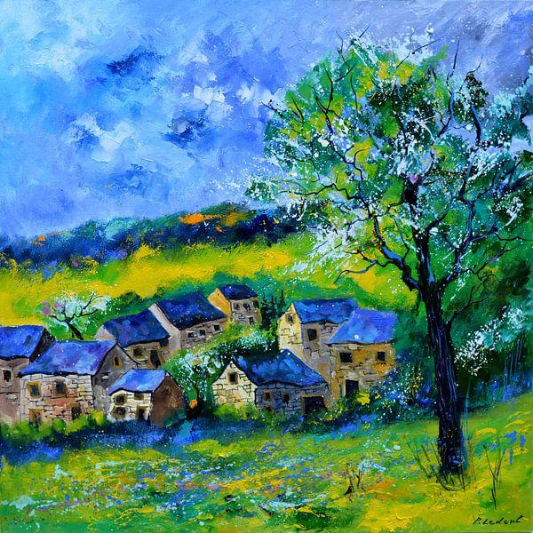 Village au printemps von pol ledent
